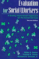 Evaluation for Social Workers: A Quality Improvement Approach for the Social Services