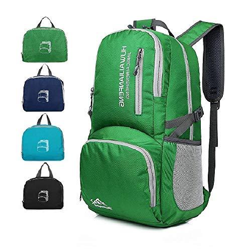 LUISPORT Lightweight Packable Hiking Backpack Foldable Hike Backpack Travel Backpack Camping Backpack Camp Backpack