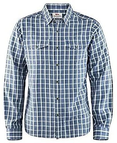 Fjallraven Abisko Cool Shirt LS M Sweatshirt Mens, Uncle Blue, XL