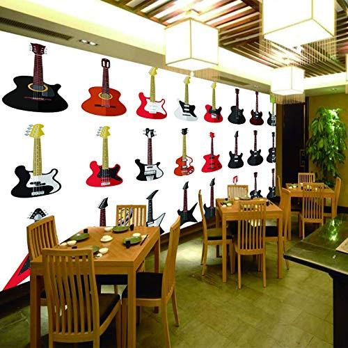 fotomurales a medida Guitarra eléctrica instrumento musical música. mural pared dormitorio murales...