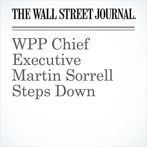 WPP Chief Executive Martin Sorrell Steps Down copertina