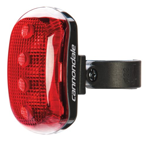 CANNONDALE 2RL03/BLK - Luce Posteriore per Bicicletta Rear Light Hindsite