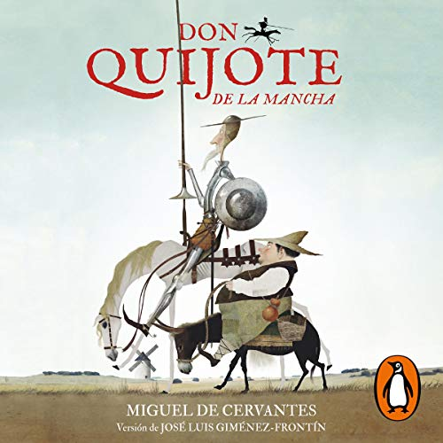 Don Quijote de La Mancha [Don Quijote of La Mancha] cover art