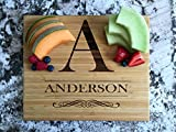 Personalized Wood Cutting Boards (Grayson Design) - Perfect Gifts For...