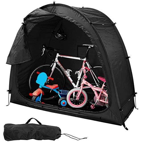 ZMIN Bicycle Storage Tent Cavity Cover Bracket, Removable Garage, Window Design, Weatherproof Outdoor Storage Mountain Bike Tent