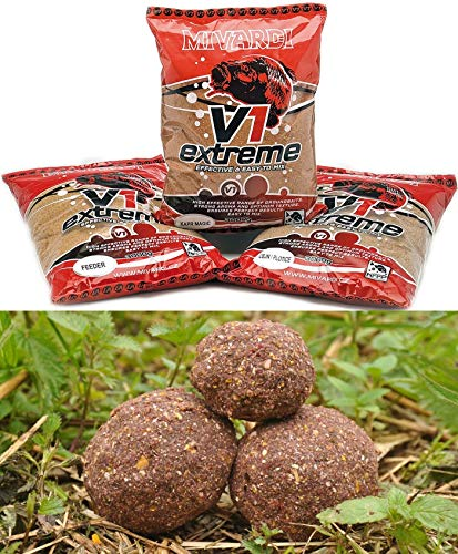 Mivardi 3kg Team V1 - Feeder Grundfutter Feederfutter Karpfenfutter
