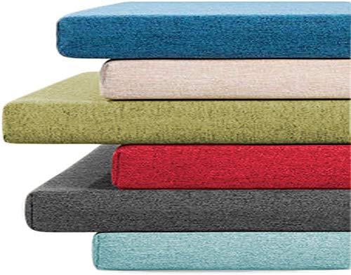 Cuscino per panca da 100/120/150 cm per interni ed esterni, cuscini spessi 3/5 cm per panca da giardino da 2 o 3 posti, cuscino per panca lunga da sala da pranzo, personalizzabile