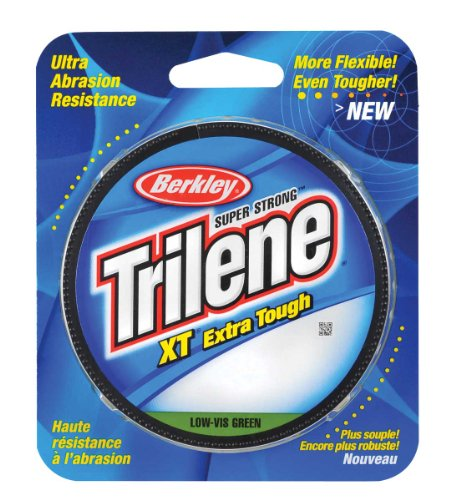 Berkley Trilene XT Filler 0.014 Inch Diameter Fishing Line, 10 Pound Test, Low Vis Green, 300 Yard Spool