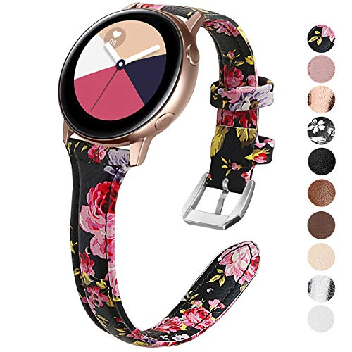 KIMILAR Pulseras Compatible con Samsung Galaxy Watch Active/42mm/Activ