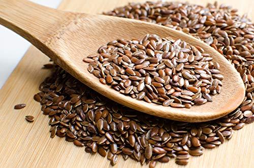 Graine de Lin brun Pdt issu Agriculture biologique FR BIO-01 - - , Sachet 1 kg