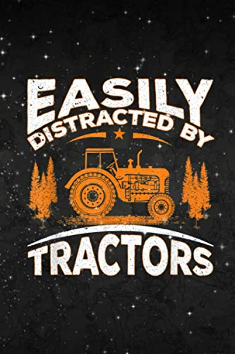 Getting Things Done Planner Funny Farming Quote Easily Distracted By Tractors