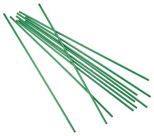 Connex Rank Varillas Maceta Varillas, plástico, 10Unidades, 5mm de diámetro, 50cm, Multicolor
