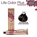 FarmaVita Life Color Plus Haarfarbe 100ml 5.00 Hellbraun Intensiv