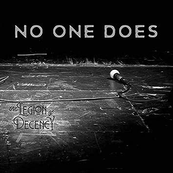 No One Does (feat. Rami Jaffe, Dusty Watson, Gabe Nelson & Caleb Roseberry)