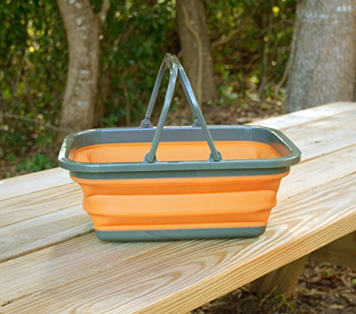 Product Image 1: UST FlexWare Collapsible Sink with 2.25 Gal Wash Basin for Washing Dishes and Person During Camping, Hiking and Home
