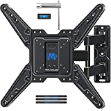 Mounting Dream UL Certificated TV Mount for Most 26-55 Inch TVs, Full Motion TV Wall Mount...