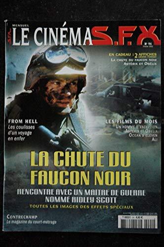 SFX 94 - La chute du faucon noir - From Hell + Affiches - 80 pages - 2002 02
