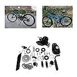 Wycnly 80cc Bicycle Engine Kit,80cc Motorized 2-Stroke Upgrade Bike Conversion Kit,DIY Petrol Gas Engine Bicycle Motor Kit Set for 24', 26' and 28' Bikes