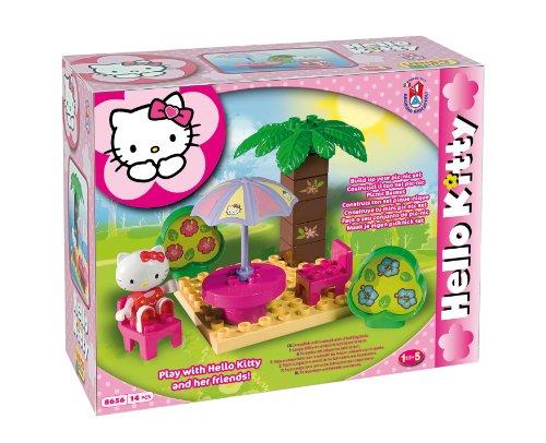 Mgm - 108656Hk - Jeu De Construction - Hello Kitty - 14 Pièces
