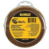 DEWALT DWO1DT801 String Trimmer Line, 50-Feet by 0.080-Inch