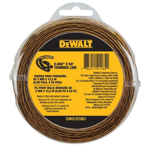 DEWALT DWO1DT801 String Trimmer Line