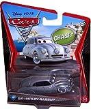 Disney Pixar CARS 2 Movie 1:55 Die Cast Car Sir Harley Gassup # 50 *Chase*