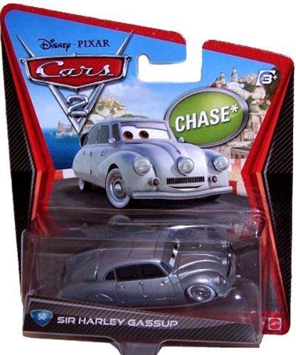 Disney Pixar Cars 2 Sir Harley Gassup # 50 *Chase* - Voiture Miniature Echelle 1:55