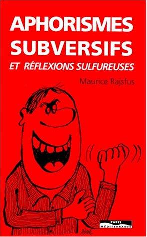 Aphorismes subversifs