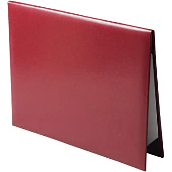 Red Smooth Diploma Certificate Cover 8 1//2 x 11 Grad Days