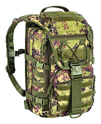 DEFCON 5Easy Pack Mochila 45L, Color Italian Camo, tamaño 32 x 50 x 28 cm, Volumen Liters 45.0