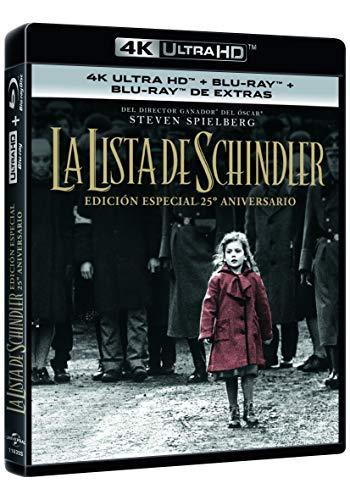 La Lista De Schindler (4K UHD + BD + BD Extras) [Blu-ray]