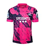 DDsports Otago Highlanders, Maillot D'entraînement De Rugby, 2020, Nouveau Tissu Brodé, Swag Sportswear (Rose, 5XL)