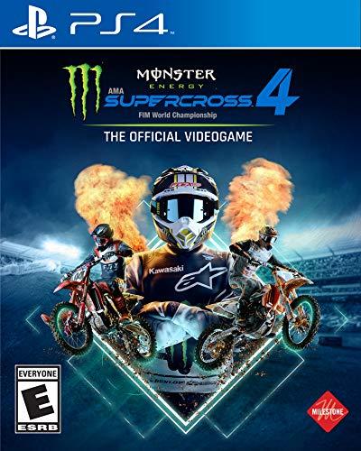 Deep Silver Monster Energy Supercross 4 - PlayStation 4 - PlayStation 4