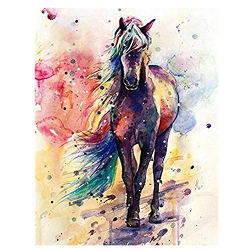 DIY 5D Diamond Painting Full Drill SetDiamant Malerei Kits, Diamant Painting Runde Vollbohr Kristall Strass Stickerei Kunsthandwerk für Home Wand-Decor, Boot, Bäume, Mond, Landschaft, Weingläser