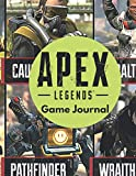 APEX LEGENDS: Game Journal: (8.5 x 11 inches) 100 pages Lined Notebook - Fun For Kids, Boys, Girls and Adults