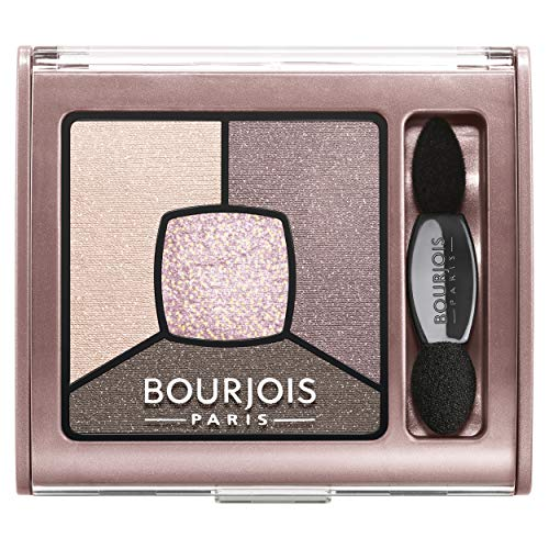 Bourjois Smoky Stories Quad Eyeshadow Palette, 02 Over Rose, 0.11 Ounce