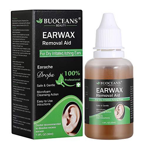 Ohrenreiniger, Ohrenschmalzentferner, Ohrwachsentferner, Ohrenschmalzprodukte, Gegen Verstopfung im Gehörgang Sanfte & schonende Reinigung Kinder & Erwachsene Ohrendusche