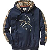Legendary Whitetails Men's Camo Outfitter Hoodie (Navy, X-Large)