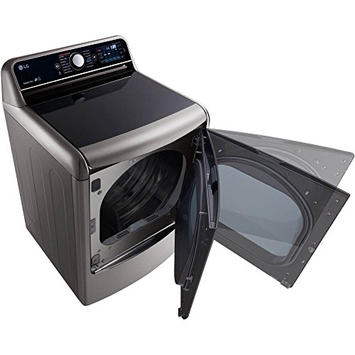 LG DLEX7700VE SteamDryer 9.0 Cu. Ft. Graphite Steel With Steam Cycle...