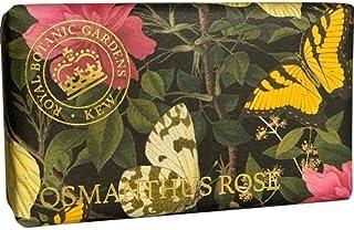 三和トレーディング English Soap Company イングリッシュソープカンパニー KEW GADEN Series キューガーデンシリーズ Luxury Shea Soaps シアソープ OSMANTHUS ROSE オスマンサスロ...