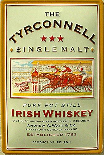 Tyrconnell Single Malt Irish Whiskey Blechschild, 20 x 30 cm