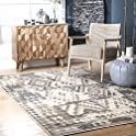 nuLOOM Manor 5 x 8 Inch Modern Nordic Area Rug
