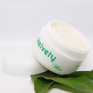 Velvety White crema aclaradora para manchas de rostro y cuello 50 ml - Crema despigmentante hidratante reparadora con ac...