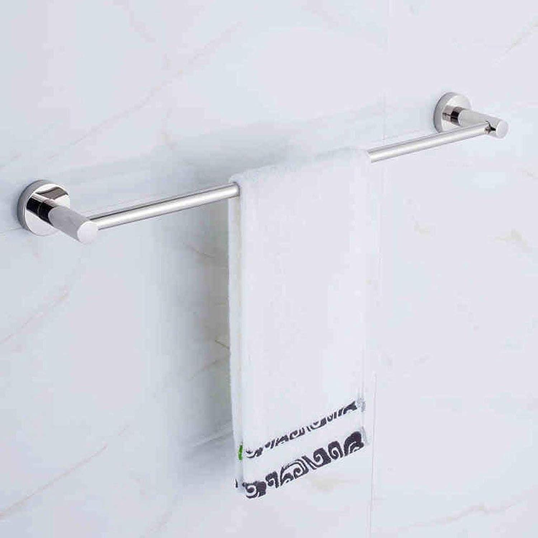 Towel Rack Towel Rack Stainless Steel Towel bar Towel Hangers Bathroom Racks Towel Rail Bathroom Towel Shelf (color   40cm)