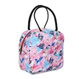 ADIRSA LB3003 Pink Insulated Lunch Bag/Tiffin Bag for Women, Kids, School, Picnic, Work