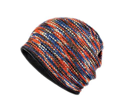 Black Temptation Cotton Velvet Double Usage Orange Chapeau Outdoor Ski Windproof Bonnet