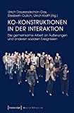 Ko-Konstruktionen in der Interaktion: Die gemeinsame Arbeit an Äußerungen und anderen sozialen Ereignissen (Sozialtheorie)