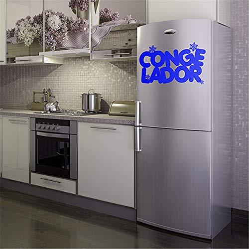 Wandtattoo Kinderzimmer Wandtattoo Schlafzimmer Küche Wall Decal spanische Eis Gefrierschrank für Kühlschrank Home Decor