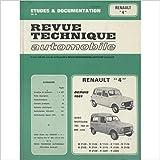 Revue Technique Automobile Renault 4 depuis 1961 moteurs 747,782 et 845 cc
