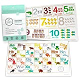 Fawn Hill Co. Disposable Placemats for Baby | Peel & Stick on Adhesive Table...